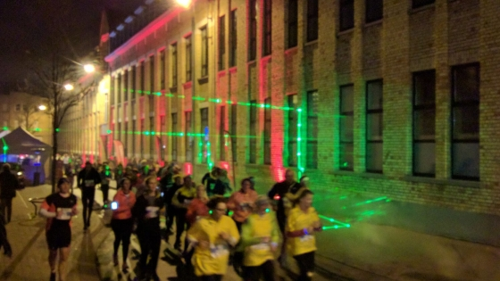 Beatrun in stadscentrum